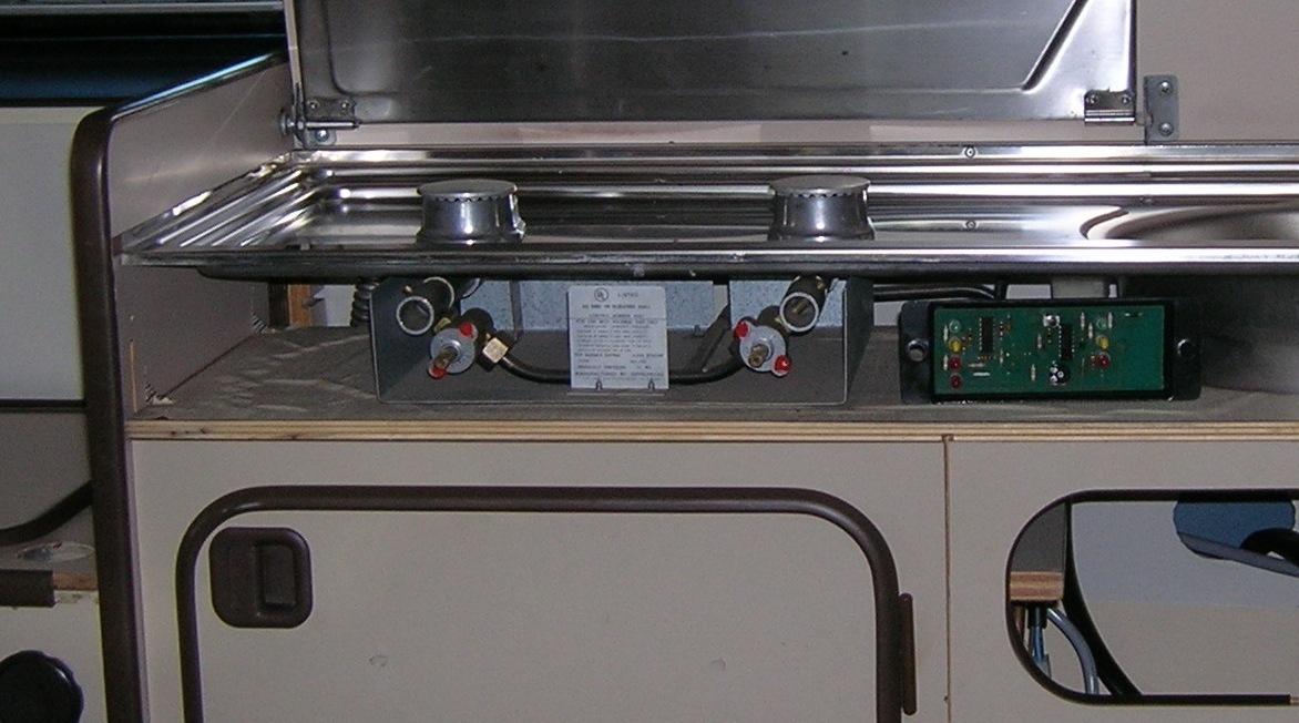 Westfalia Stove burner & manifold