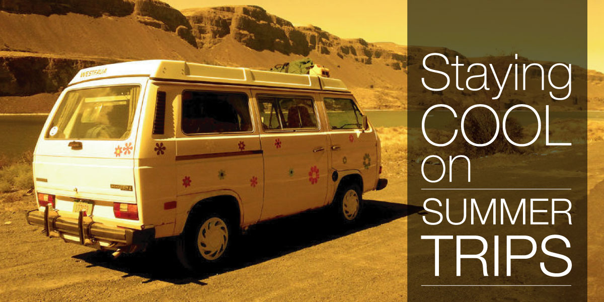 Staying Cool On Summer Road Trips in Your Camper Van - Camp Westfalia