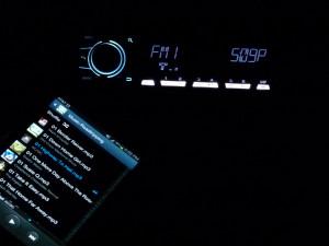 Pioneer MVH-X560BT-phone-illumination