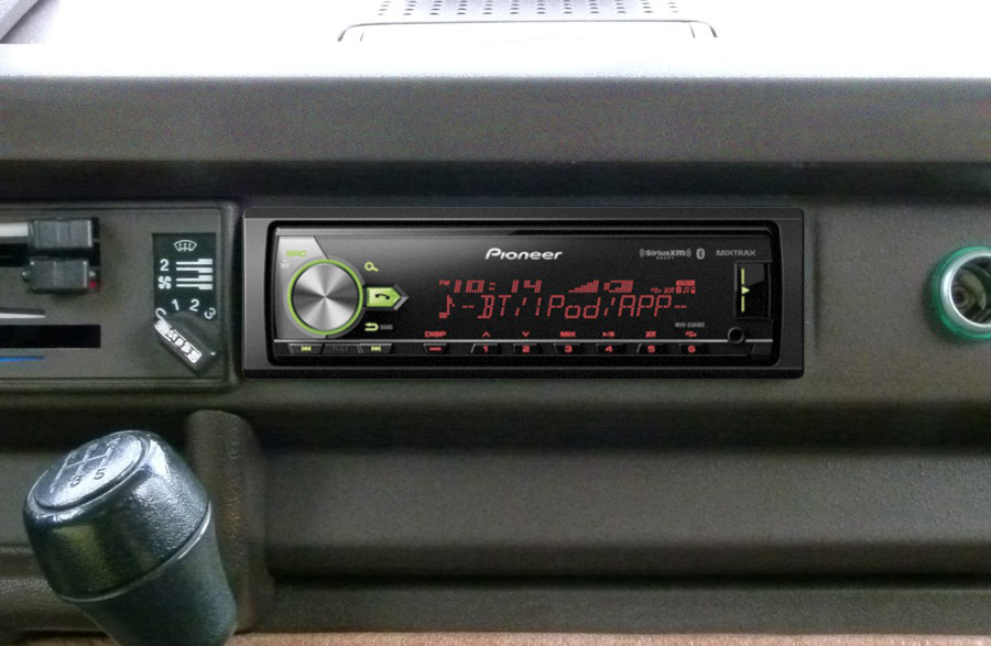 Product Review: Pioneer MVH-X580BS Digital Media Receiver - Camp