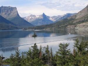 Wild Goose Island, St. Mary Lake, Glacier National Park