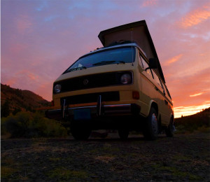 Vanagon-Westfalia-sunset