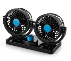 Product Review: Windshield and Dash Car Fan - Camp Westfalia