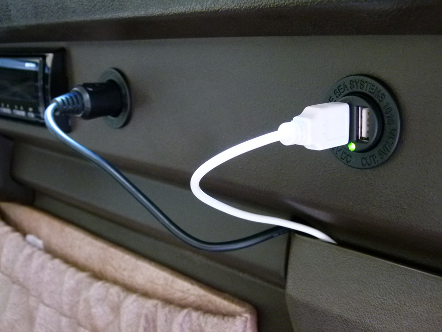 Replace the Vanagon Cigarette Lighter with a USB Port
